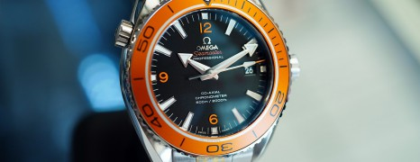 Omega Seamaster Planet Ocean 600M Automatic Co-Axial 8500 Orange Bezel 45.5 mm (Thai AD 06/2018)