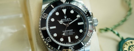 Rolex Submariner No Date Ceramic 40 mm Ref.114060 (10/2019)