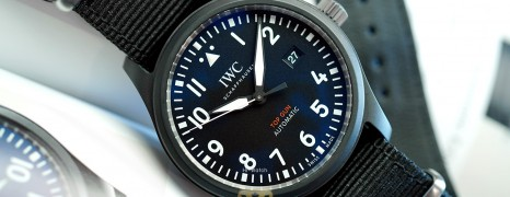 IWC Pilot's Watch Automatic Top Gun Black Ceramic 41 mm Ref.IW326901 (01/2021)