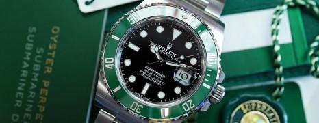 NEW!!! Rolex Submariner Date Green Ceramic 41 mm Ref.126610LV (Starbucks)(NEW 04/2021)