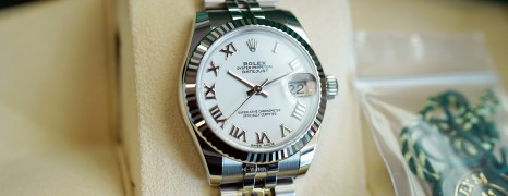 NEW!!! Rolex Datejust Jubilee White Roman Dial 31 mm REF.178274 (NEW Thai AD 03/2021)