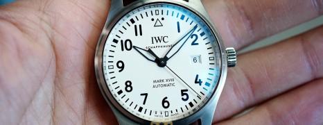 IWC Pilot's Watch Mark XVIII White Dial 40 mm Ref.IW327002 (Thai AD 11/2017)
