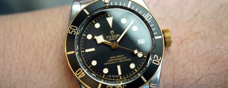 Tudor Heritage Black Bay Steel and Gold 41 mm (Thai AD 01/2018)
