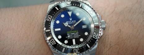 Rolex Sea-Dweller Deepsea D-Blue 44 mm Ref.116660 (Thai AD 04/2018)