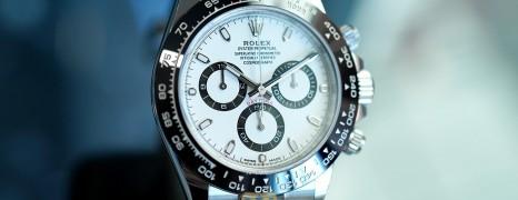 Rolex Cosmograph Daytona Ceramic White Dial 40 mm Ref.116500LN (05/2018)