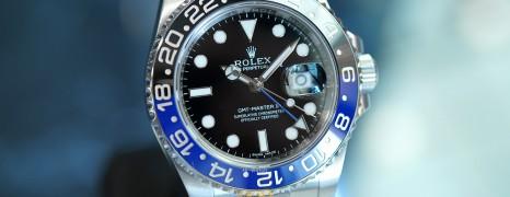 Rolex GMT-Master II Black Dial Black Blue Ceramic REF.116710BLNR (Batman)(08/2015)