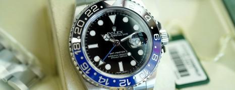 Rolex GMT-Master II Black Dial Black Blue Ceramic REF.116710BLNR (Batman)(06/2014)