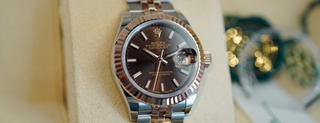 NEW!! Rolex Lady-Datejust 2K Everose Gold Chocolate Dial 28 mm REF.279171 (Thai AD 04/2021)