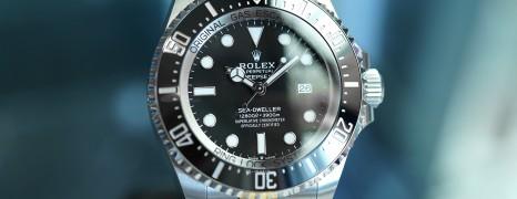 NEW!! Rolex Sea-Dweller Deepsea 44 mm Ref.126660 (New Thai AD 12/2020)