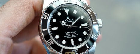Rolex Submariner No Date Ceramic 40 mm Ref.114060 (Thai AD 01/2020)