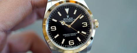 NEW!!! Rolex Explorer I 2K Yellow Rolesor 36 mm Ref.214270 (New Thai AD 06/2021)