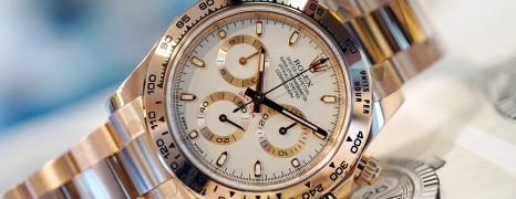 Rolex Cosmograph Daytona Full Everose Gold Ivory Dial 40 mm Ref.116505 (Thai AD 04/2019)