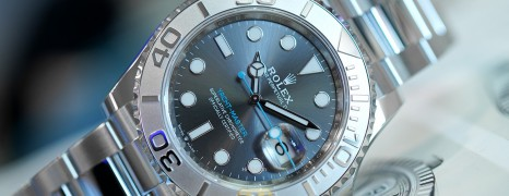NEW!!! Rolex Yacht-Master Dark Rhodium Dial 40 mm Ref.126622 (Thai AD 06/2021)