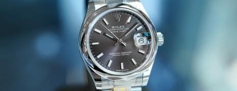 NEW!! Rolex Datejust Dark Rodium Dial Boy Size 31 mm REF.278240 (NEW Thai AD 05/2021)