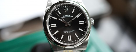 NEW!!! Rolex Oyster Perpetual Black Dial 41 mm REF.124300 (NEW THAI AD 07/2021)
