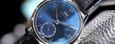 NEW!!! IWC Portugeiser Automatic Blue Dial 40.4 mm Ref.IW358305 (NEW Thai AD 07/2021)