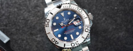 NEW!!! Rolex Yacht-Master Blue Dial 40 mm Ref.126622 (New Thai AD 08/2021)