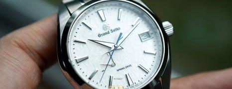Grand Seiko Spring Drive Titanium Snow Flake Dial 41 mm Ref.SBGA211G (Thai AD 07/2021)