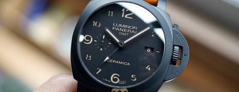 Panerai 441 Luminor 1950 3 Days GMT Automatic Ceramica 44 mm S.S (10/2016)