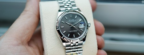 NEW!!! Rolex Datejust Jubilee Dark Grey Dial 31 mm REF.278274 (NEW Thai AD 07/2021)