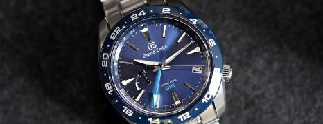 Grand Seiko Sport Collection Blue Ceramic Spring Drive GMT 40.5 mm Ref.SBGE255 (Thai AD 09/2020)