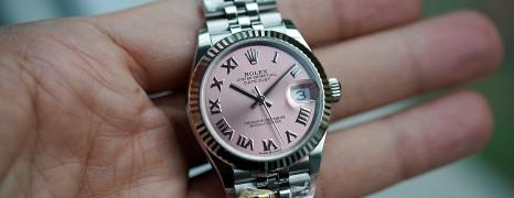 NEW!!! Rolex Datejust Jubilee Pink Roman Dial 31 mm REF.278274 (NEW Thai AD 07/2021)