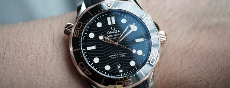 NEW!!! Omega Seamaster Diver 300M Sedna™ Gold 18K Master Co-Axial Black Dial 42 mm (NEW Thai AD 07/2021)