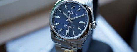Rolex Oyster Perpetual Blue Dial 34 mm Ref.124200 (Thai AD 06/2021)