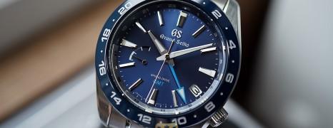 Grand Seiko Sport Collection Blue Ceramic Spring Drive GMT 40.5 mm Ref.SBGE255 (Thai AD 07/2021)