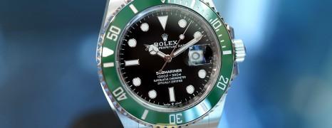 NEW!!! Rolex Submariner Date Green Ceramic 41 mm Ref.126610LV (Starbucks)(NEW 06/2021)