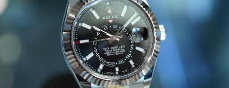 NEW!! Rolex Sky-Dweller Black Dial 42 mm Ref.326934 (NEW Thai AD 09/2021)