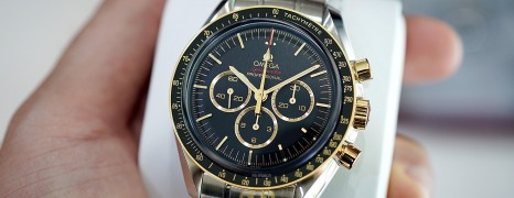 Omega Speedmaster Olympic Games Collection Tokyo 2020 Black Dial (Steel-Yellow Gold )42 mm (NEW 08/2019)