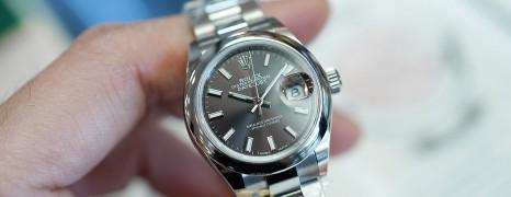 NEW!! Rolex Datejust Dark Grey Dial 28 mm Ref.279160 (NEW Thai AD 09/2021)