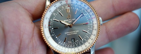Breitling Navitimer Automatic 41mm Stainless Steel-Red Gold Ref.U17326211m (Thai Ad 10/2020)