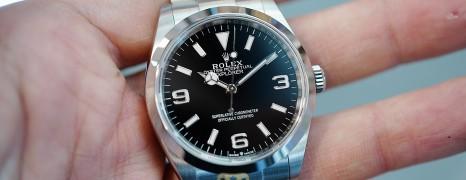 NEW!!! Rolex Explorer I 36 mm Ref.124270 (New Thai AD 09/2021)