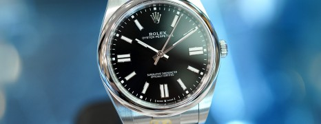 NEW!!! Rolex Oyster Perpetual Black Dial 41 mm REF.124300 (NEW THAI AD 09/2021)