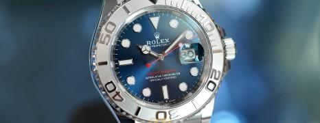 Rolex Yacht-Master Blue Dial 40 mm Ref.126622 (12/2019)
