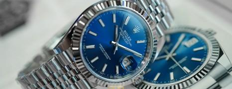 NEW!!! Rolex Datejust 41 WhiteGold Bezel Blue Dial 41 mm Ref.126334 (Thai AD New 09/2021)