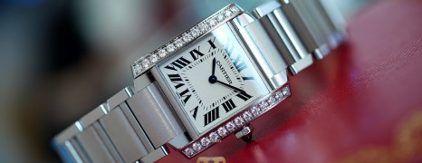 Cartier Tank Francaise Diamond Quartz Medium 30 mm x 25 mm Ref. W4TA0009 (Thai AD 08/2019)