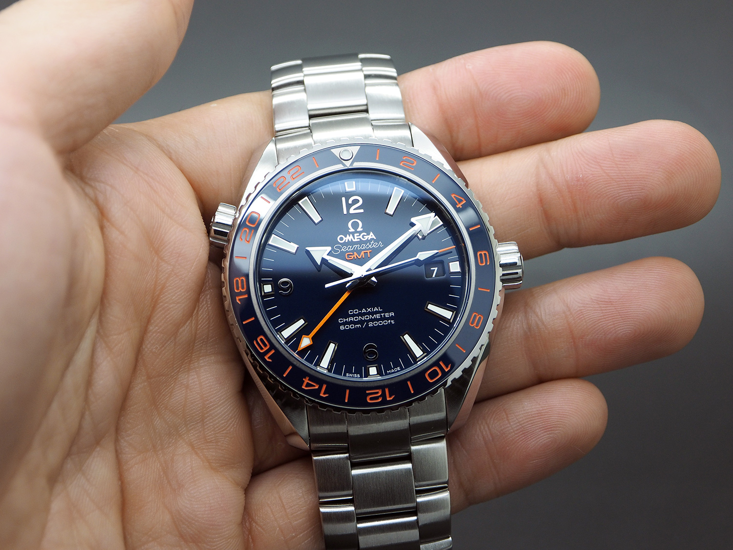 Omega Seamaster Planet Ocean 600m Gmt Goodplanet Edition