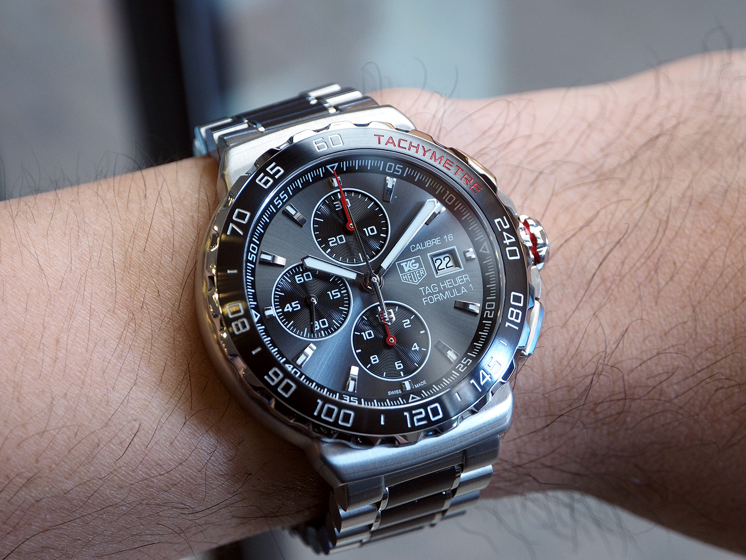 Tag Heuer F1 Automatic Chronograph Calibre 16 Grey Ceramic