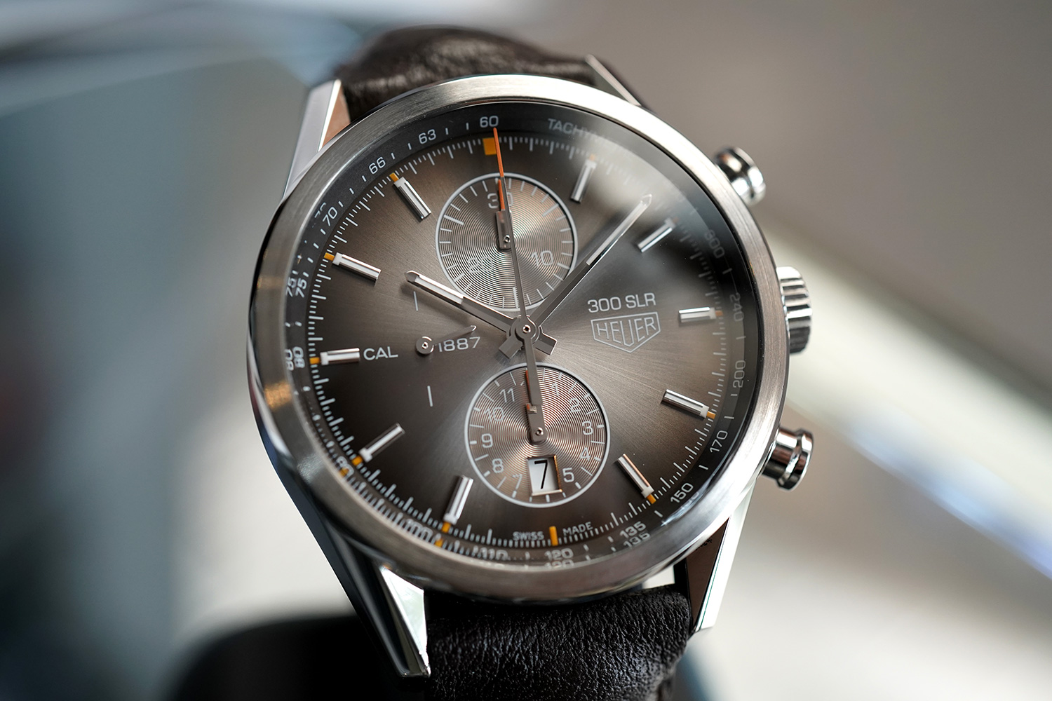 "a4097ceaef0 Tag Heuer Carrera Calibre 1887 Brown Dial ""300 SLR Limited Edition ..."