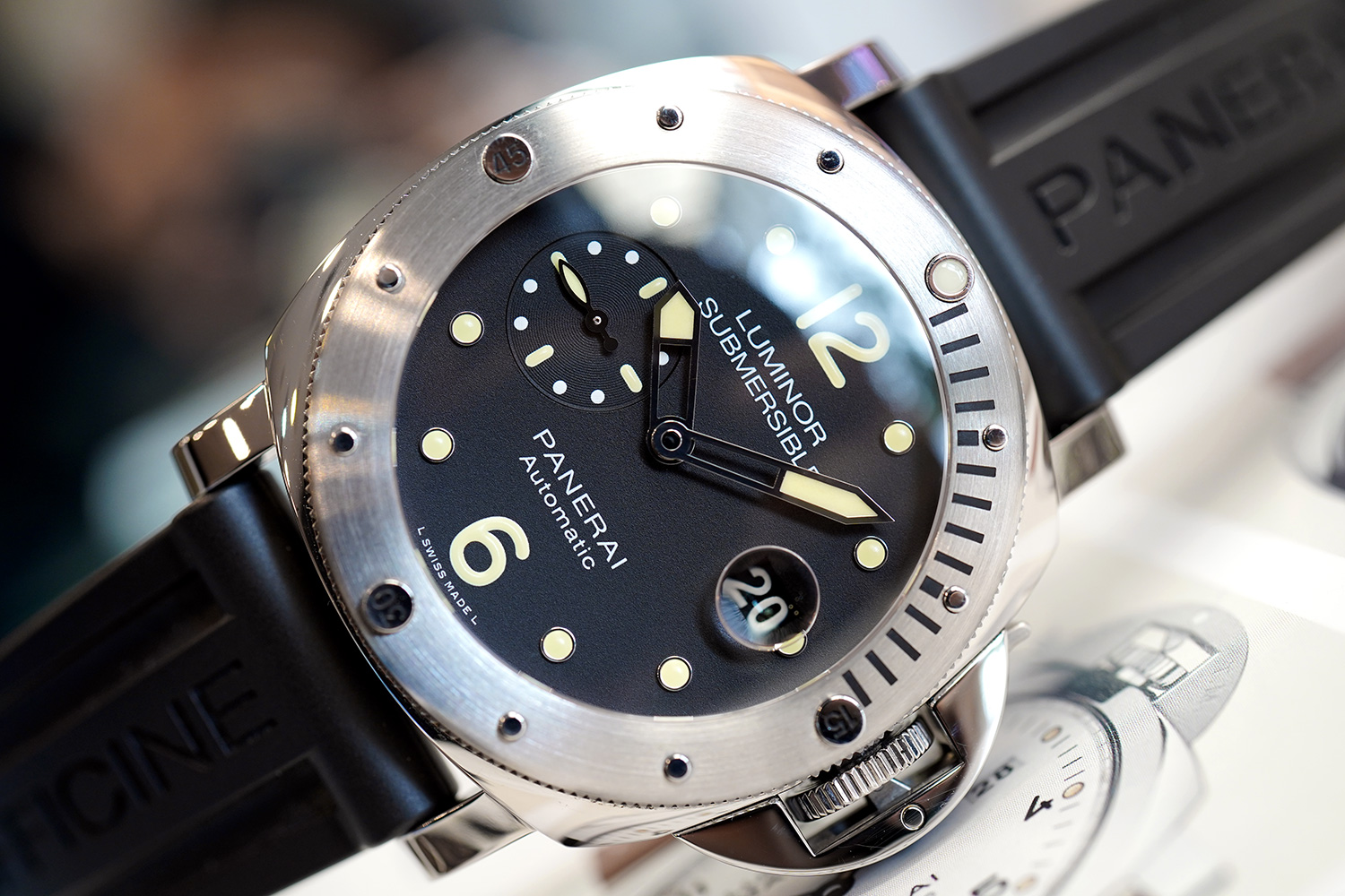 Panerai 1024 Luminor Submersible Automatic 44 Mm S.T (03