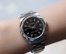 Rolex Oyster Perpetual Lady Black Dial 31 mm Ref.177200