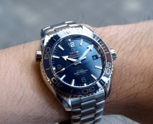 Omega Seamaster Planet Ocean Co-Axial Master Chronometer Blue Dial 43.5 mm