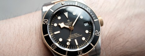 Tudor Heritage Black Bay Steel and Gold 41 mm