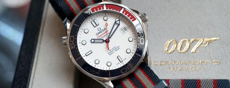 """Omega Seamaster Diver 300M """"Commander's Watch"""" (007) Limited Edition 41 mm"""
