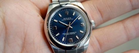Rolex Oyster Perpetual Lady Blue Dial 31 mm Ref.177200