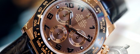 Rolex Cosmograph Daytona Pinkgold Chocolate Dial 40 mm Ref.116515LN