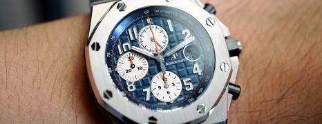 AP Audemars Piguet Royal Oak Offshore Chronograph Royal-Blue Dial 42 mm Ref.26470ST.OO.A027CA.01